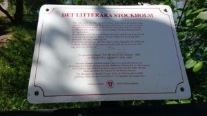 Stockholms litterära skyltar